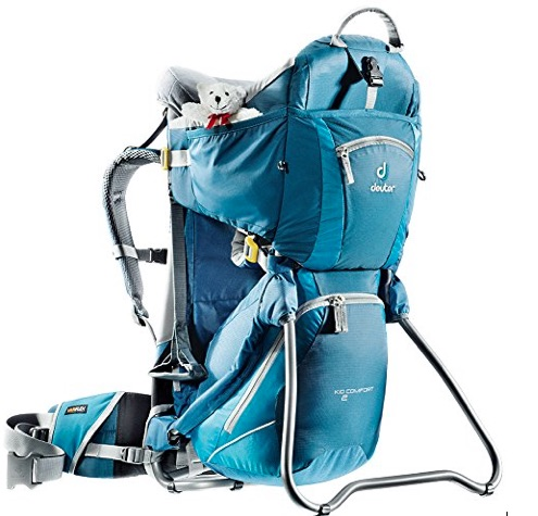 Deuter backpack and baby carrier